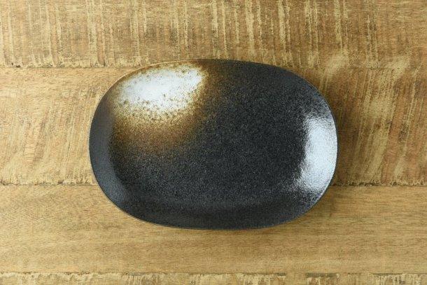 18.5cm朧月夜楕円皿