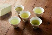 香り、色合い、温もり。味わいと共に、美味しくお茶をいただく煎茶碗。