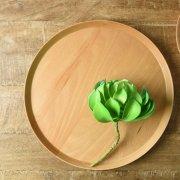ワンプレートでオシャレに頂ける優しい木製皿