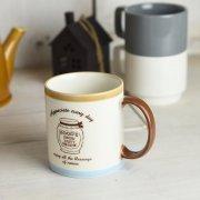 フレンチガーリーな優しい雰囲気のマグカップ