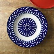 北欧食器テイストなパターンのお皿