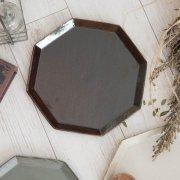 アメ釉と渕の錆感が生みだす表情豊かな八角プレート