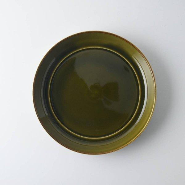 ヨシタ手工業デザイン室 TRIP WARE プレート175 緑釉