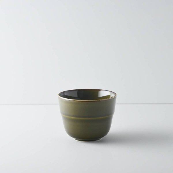 ヨシタ手工業デザイン室 TRIP WARE カップ80 緑釉