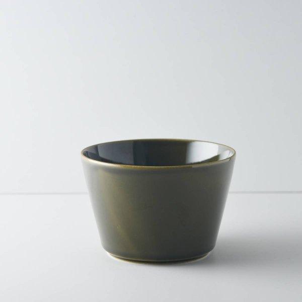 ヨシタ手工業デザイン室 TRIP WARE ストレートボウル130 緑釉