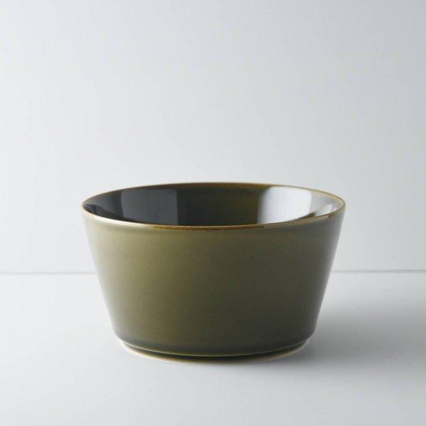 ヨシタ手工業デザイン室 TRIP WARE ストレートボウル160 緑釉
